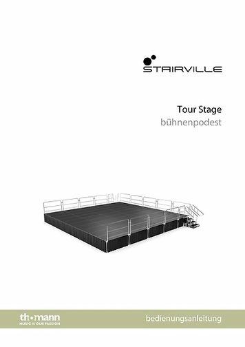 Bedienungsanleitung: Tour Stage