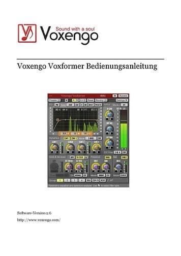 voxengo voxformer review