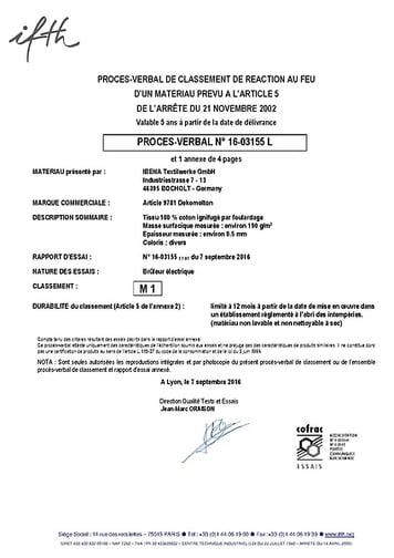 M1 Certificat