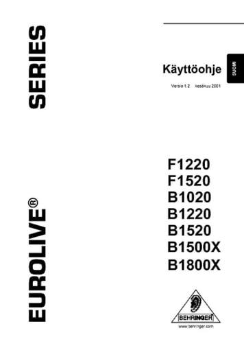 Manual in Finnisch