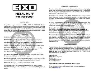 Electro Harmonix Metal Muff/ Top Boost – Thomann UK