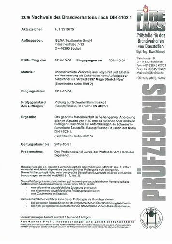 B1 Certificate