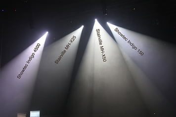Vergleichsbild LED Spots