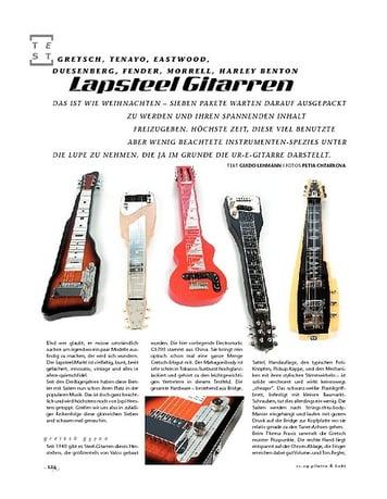 Gitarre & Bass Lapsteel Gitarren im Vergleich!