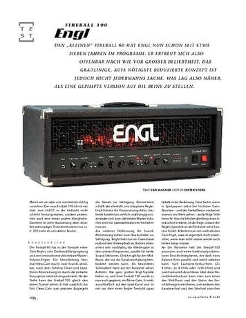 Gitarre & Bass Engl Fireball 100