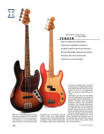 Gitarre & Bass Fender Road Worn Precision & Jazz Bass