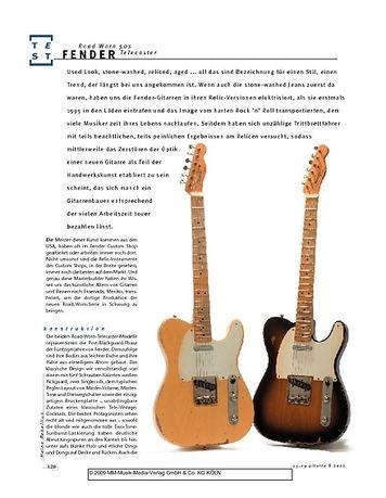 Gitarre & Bass Fender Road Worn 50s Telecaster, E-Gitarren