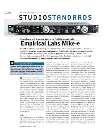 Sound & Recording Studiostandards - Empirical Labs Mike-e