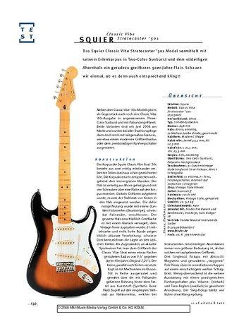 Gitarre & Bass Squier Classic Vibe Stratocaster '50s, E-Gitarre