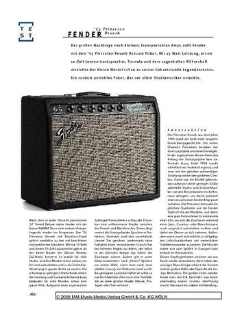 Gitarre & Bass Fender '65 Princeton Reverb, Röhren-Combo