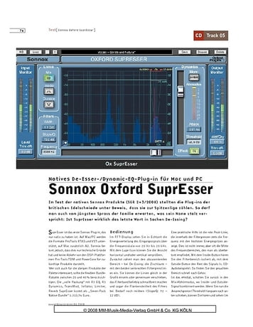 Sound & Recording Sonnox Oxford SuprEsser
