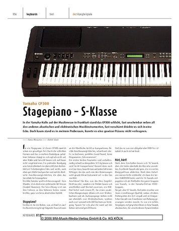 Keyboards Yamaha CP300