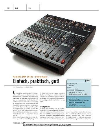 Keyboards Yamaha EMX 5014c