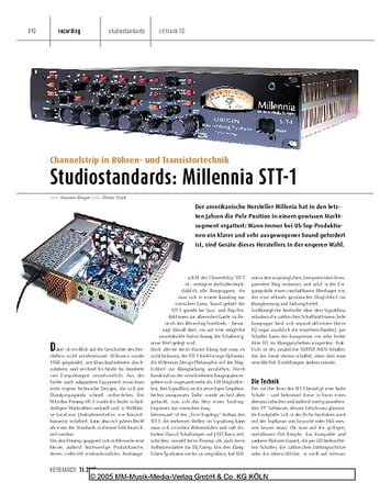 Keyboards Studiostandards: Millennia STT-1