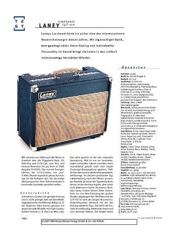 Gitarre & Bass Laney Lionheart L5T-112, Gitarren-Combo