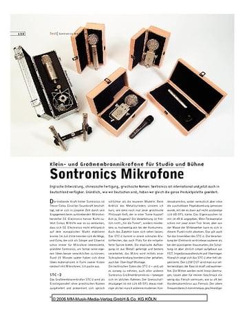 Sound & Recording Sontronics Mikrofone