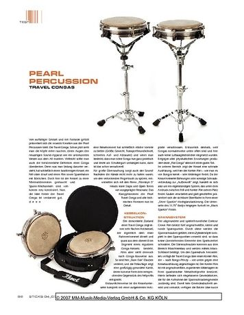 Sticks Pearl Percussion