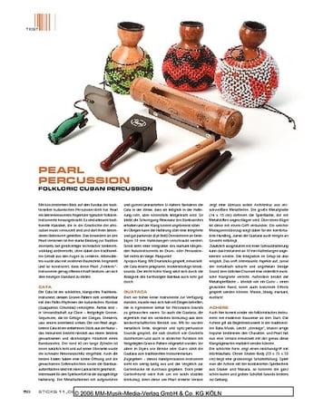 Sticks Pearl Folkloric Cuban Percussion