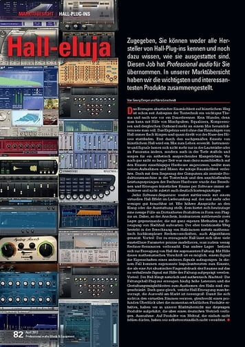 Professional Audio HALL-PLUG-INS