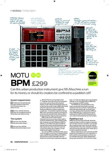 Computer Music BPM