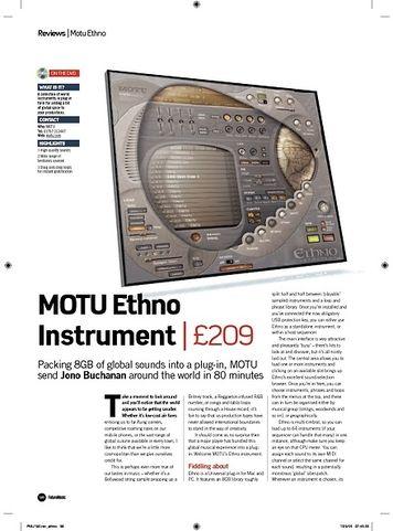 MOTU Ethno V2 Update From V1 – Thomann UK