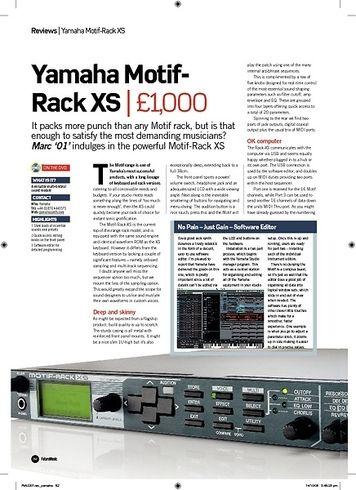 Yamaha Motif Rack XS – Thomann UK