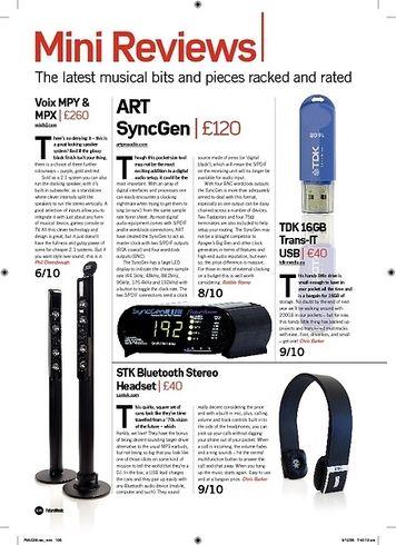 Future Music STK Bluetooth Stereo Headset