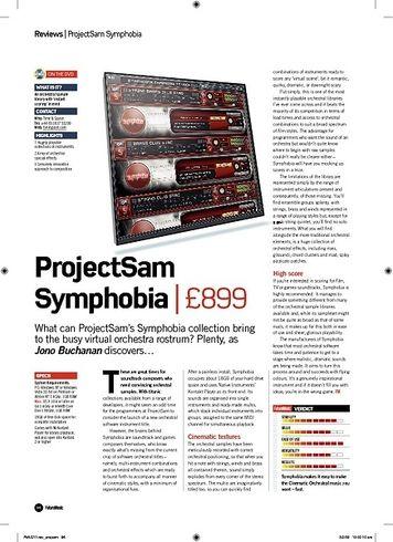 Future Music ProjectSam Symphobia