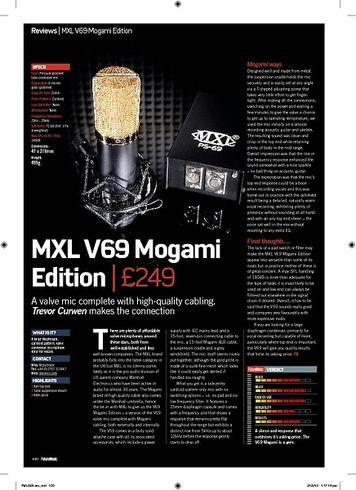 Future Music MXL V69 Mogami Edition