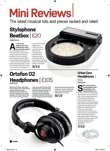 Future Music Stylophone Beatbox