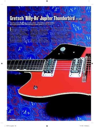 Guitarist Gretsch BillyBo Jupiter Thunderbird