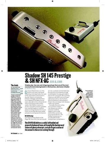 Guitarist Shadow SH NFXAC