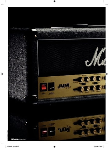 Guitarist Marshall JVM410H head