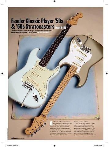 Guitarist Fender Classic Player 50S Strat
