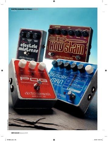 Guitarist Electro Harmonix Stereo Memory Man pedal