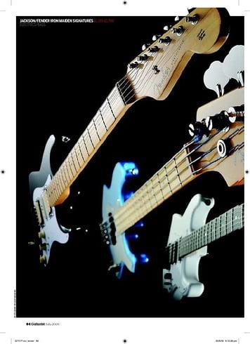 Guitarist Jackson Adrian Smith San Dimas DK