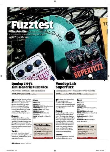 Guitarist MXR Classic 108 Fuzz