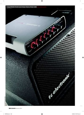 Guitarist TC Electronic RH 450 Bass Head
