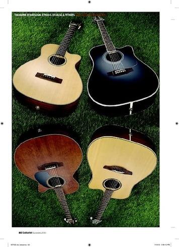 Guitarist Takamine EF341SC