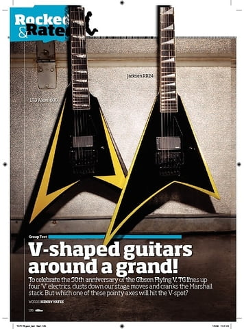 Total Guitar Dean Dave Mustaine VMNT1