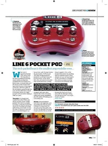 Total Guitar Line 6 Pocket Pod