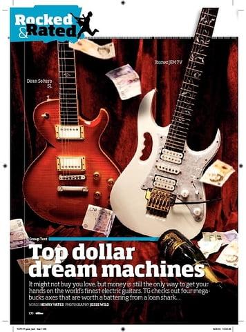 Total Guitar Dean Soltero SL