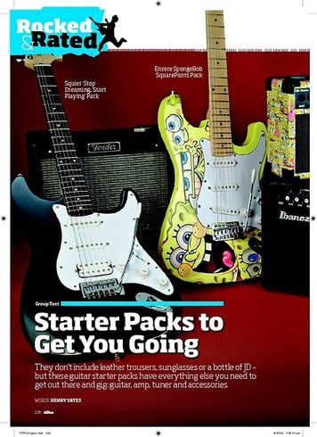 Total Guitar Yamaha Pacifica 012 Starter Pack
