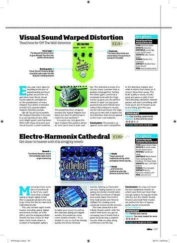 Total Guitar ElectroHarmonix Cathedral