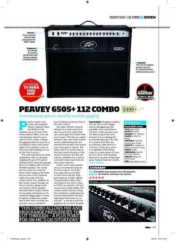 Total Guitar Peavey 6505+ Combo