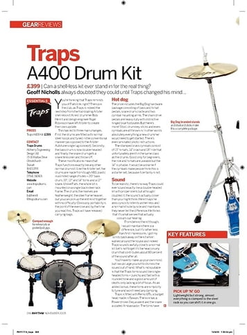 Rhythm Traps A400 Drum Kit