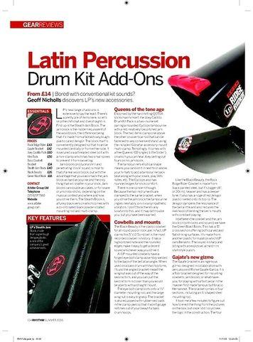 Rhythm Latin Percussion Drum Kit AddOns