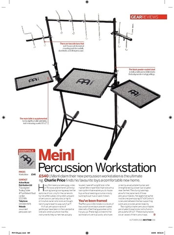 Rhythm Meinl Percussion Workstation