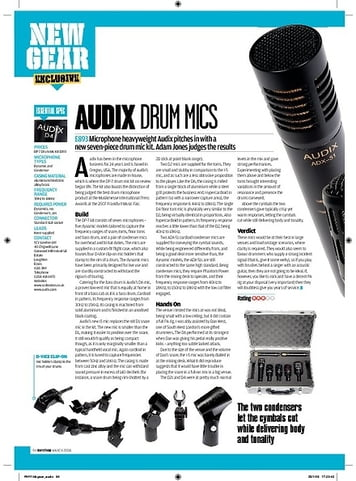 Rhythm DP7 Drum Mic Kit