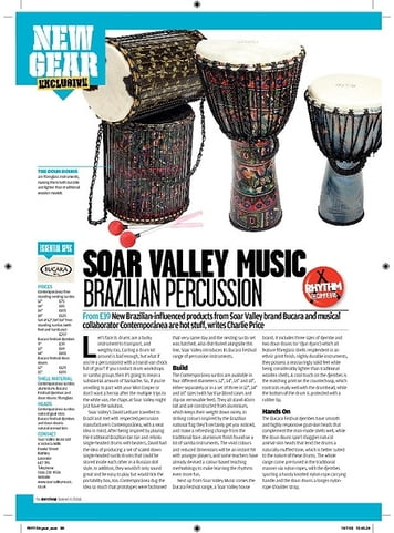 Rhythm Soar Music Brazilian Percussion